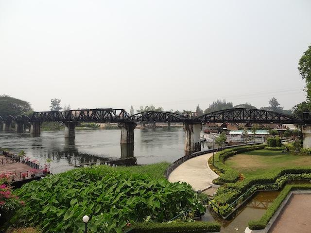 Le Pont de la Rivière Kwai à Kanchanaburi