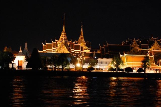 Fleuve Chao Praya à Bangkok