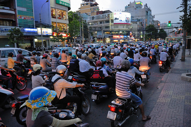 Motos au Vietnam