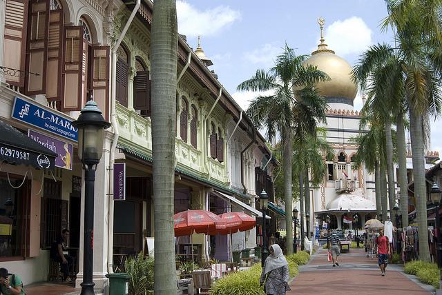 Arab Street Sultan Mosquée Singapour
