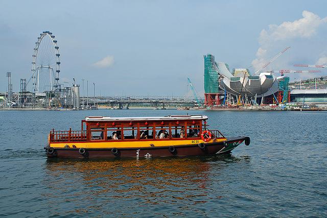 Bateau Bumboat Singapour